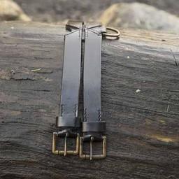 Twin X-belt, schwarz