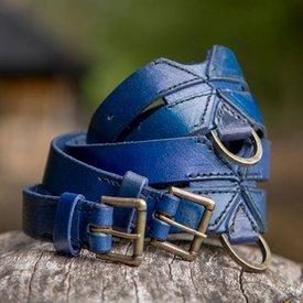 Epic Armoury Cinturón X doble, azul