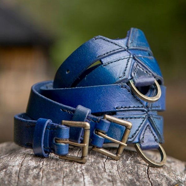 Epic Armoury Dubbele X-riem, blauw