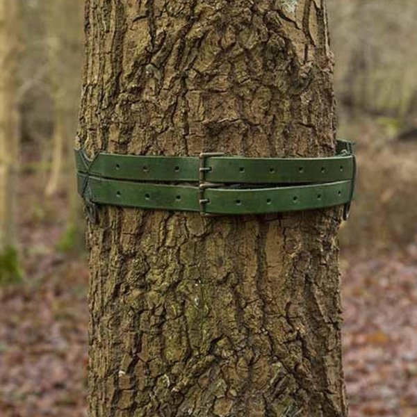 Epic Armoury Twin X-belt, green
