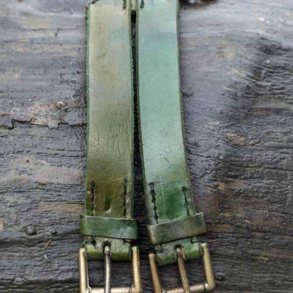 Epic Armoury Dubbele X-riem, groen