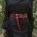 Epic Armoury Dubbele X-riem, rood