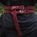 Epic Armoury Cinturón X doble, rojo