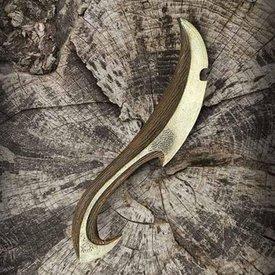 Epic Armoury LARP couteau de lancer elfique noir