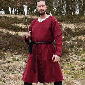 Finitura a tunica di Kragelund cucita a mano, vino rosso