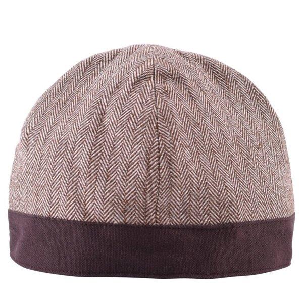 Adorno de espiga de sombrero de Birka, marrón