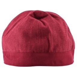 Birka hat herringbone motif, red
