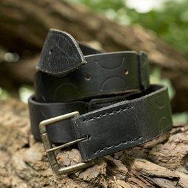 Epic Armoury Cintura in pelle Aruthia, nera