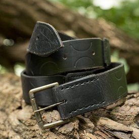 Epic Armoury Cinturón de cuero Aruthia, negro.