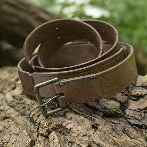 Epic Armoury Läderbälte Aruthia, brun