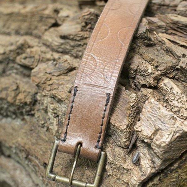 Epic Armoury Ceinture en cuir Aruthia, marron