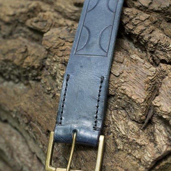 Epic Armoury Læderbælte Aruthia, blå