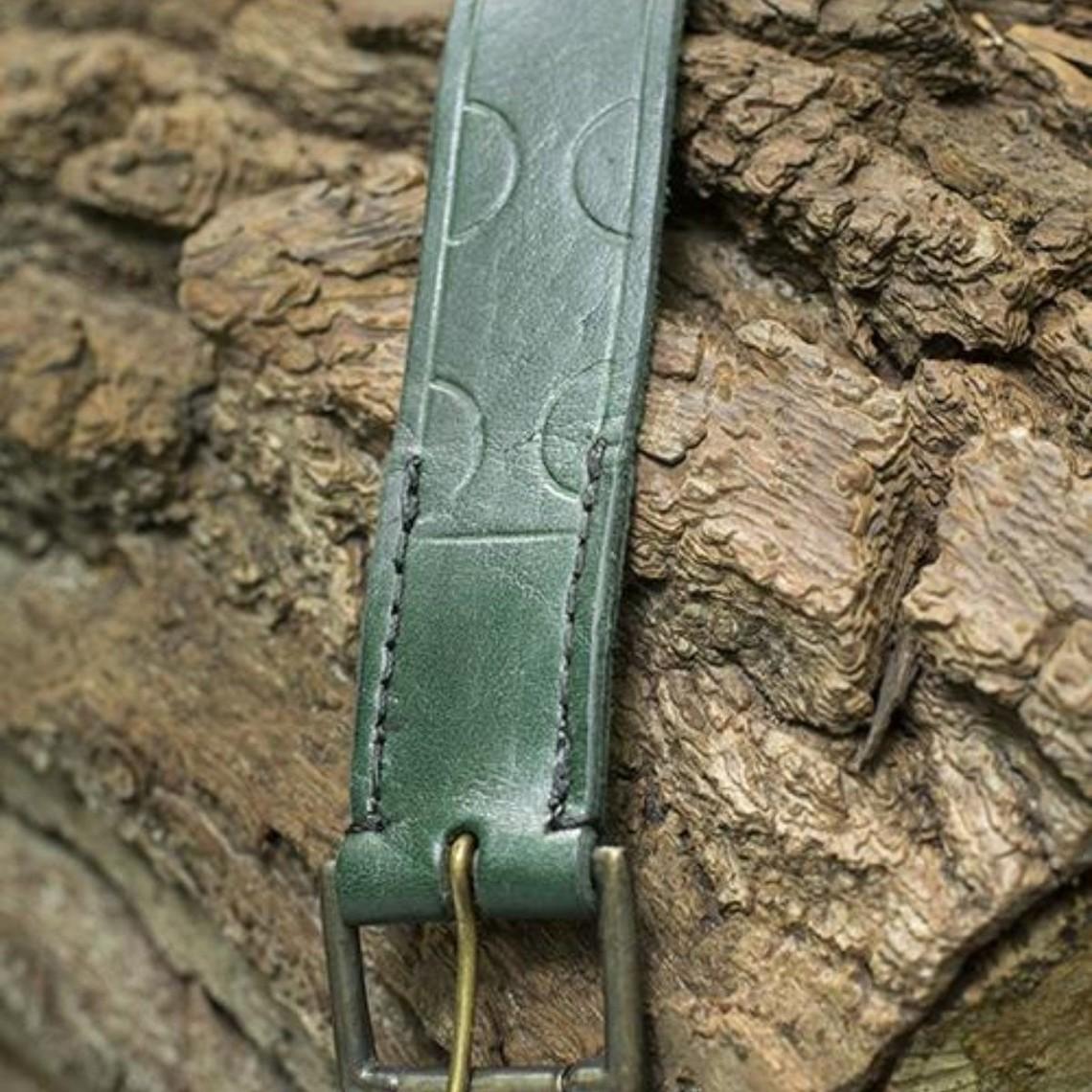 Epic Armoury Leren riem Aruthia, groen
