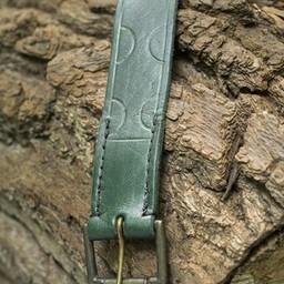 Ledergürtel Aruthia, grün