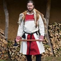 Vikingtuniek Viborg, naturel-rood