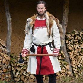 Viking tunika Viborg, naturalny czerwony