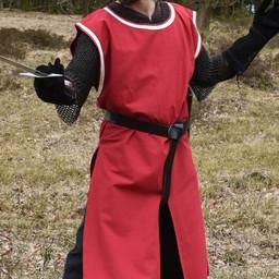 Medieval opończę Rodrick, czerwony naturalny