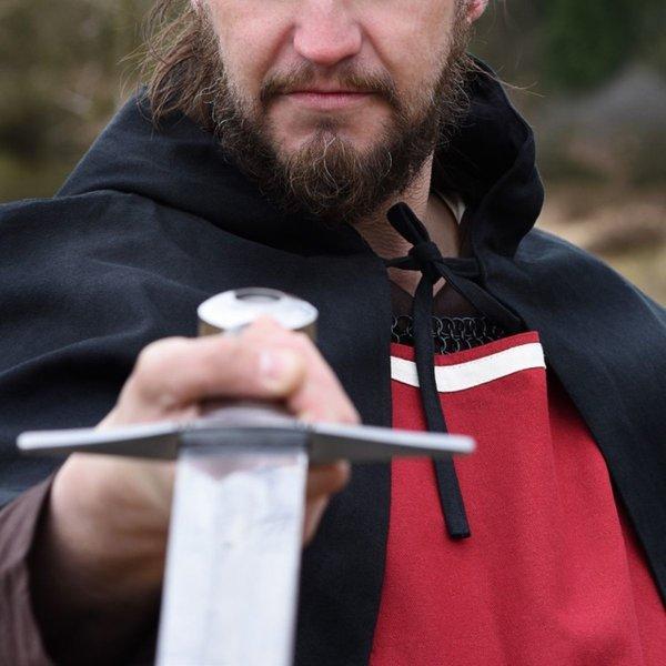 Middeleeuws overkleed Rodrick, rood-naturel
