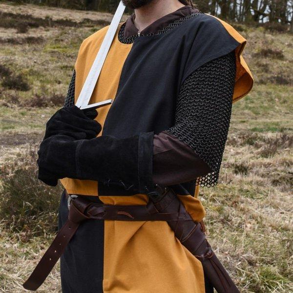 Middelalder surcoat Rodrick, orange-sort