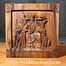 Drewniane ściany dekoracji Odin