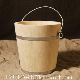 Drewniane wiadro 10 litrów