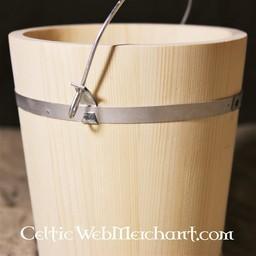 Balde de madera 5 litros