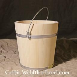 Drewniane wiadro 5 litrów