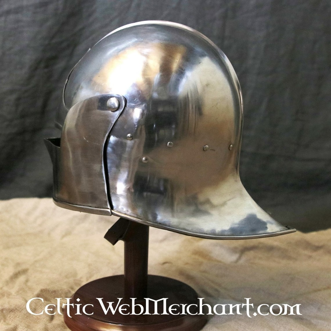 Marshal Historical Sallet burgundo