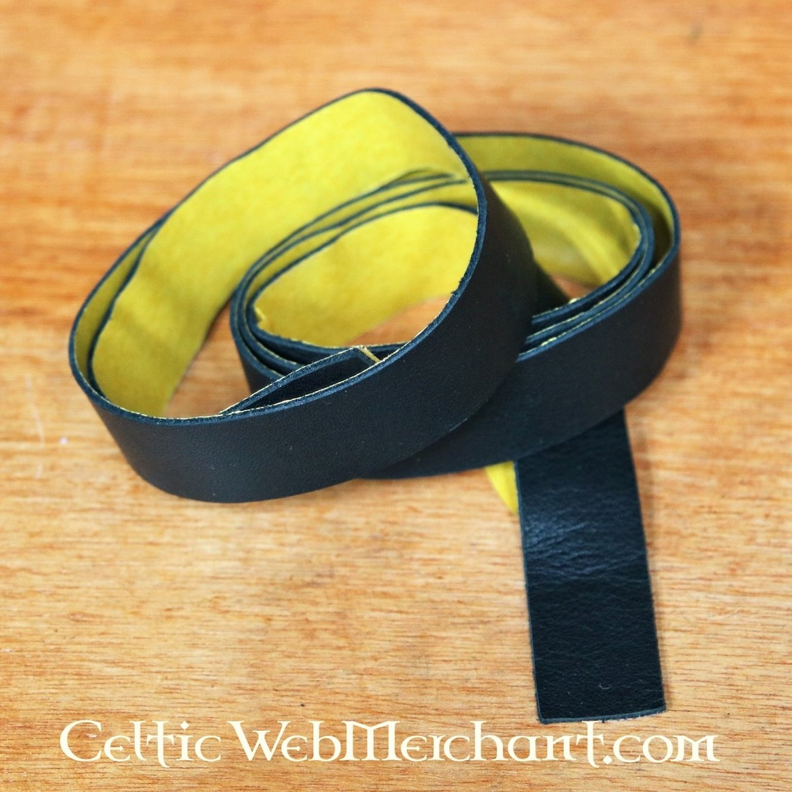 Selvklæbende læder bånd til sløjfe greb og spydstager