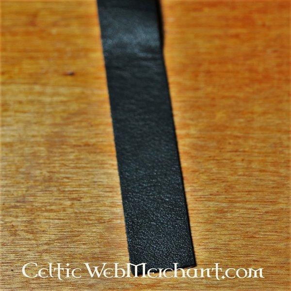 Self-Adhesive leather strip for bow grips and spear shafts