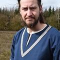 Birka Tunika Knut, kurze Ärmel, blau