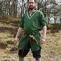 Birka tunika Knut, korta ärmar, grön
