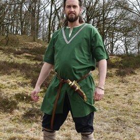 Birka tunic Knut, short sleeves, green