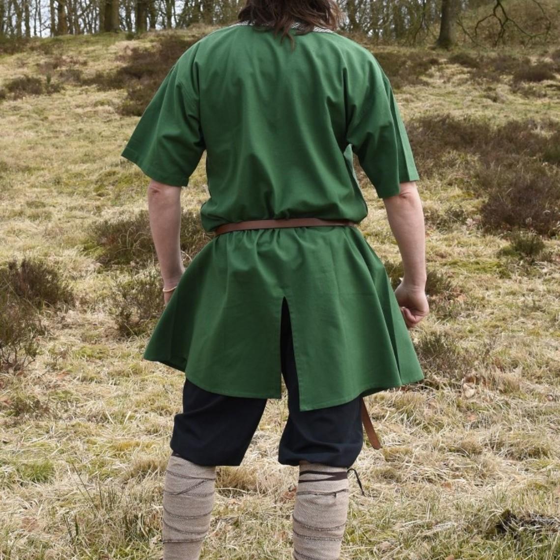 Birka tunika Knut, korte ærmer, grøn