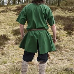 Tunica di Birka Knut, maniche corte, verde