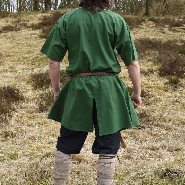 Birka tunika Knut, krótkie rękawy, zielony