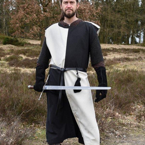 Medieval opończę Rodrick, naturalne-czarny
