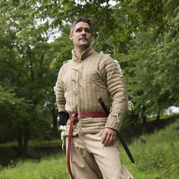 Epic Armoury 15th century acketon beige