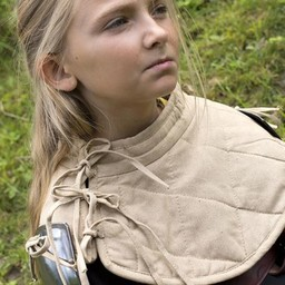 RFB Padded collar with pauldrons, beige