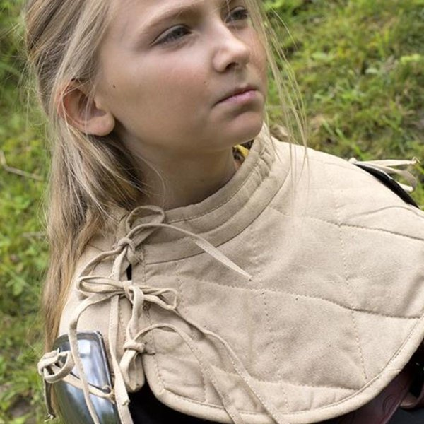 Epic Armoury RFB Padded collar with pauldrons, beige