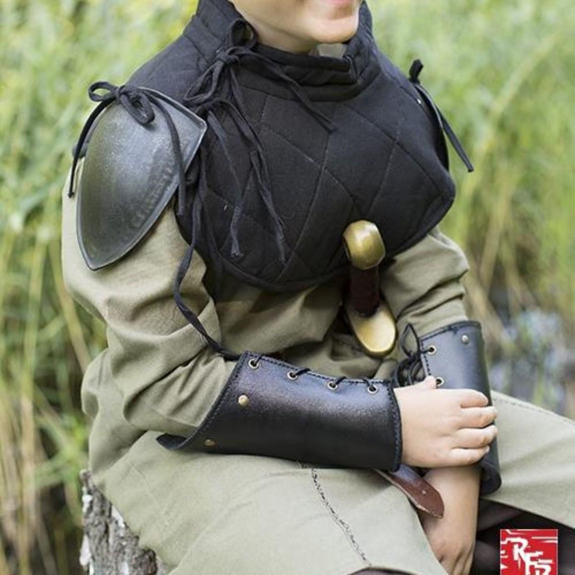 Epic Armoury RFB Kołnierz wyściełany z koturnami, czarny