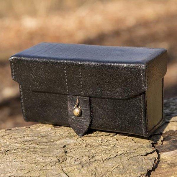 Epic Armoury Imperial läderväska, svart
