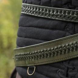 Geflochtener Schwertgürtel, grün