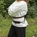 Epic Armoury Dwuczęściowy pas mieczowy, brązowy