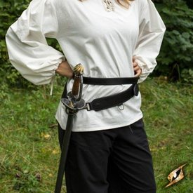 Epic Armoury Todelt sværdbælte, sort