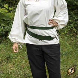 Epic Armoury Tvådelad svärdbälte, grön