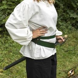 Dwuczęściowy pas miecza, zielony