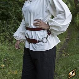 Cinturón de espada de dos partes, rojo