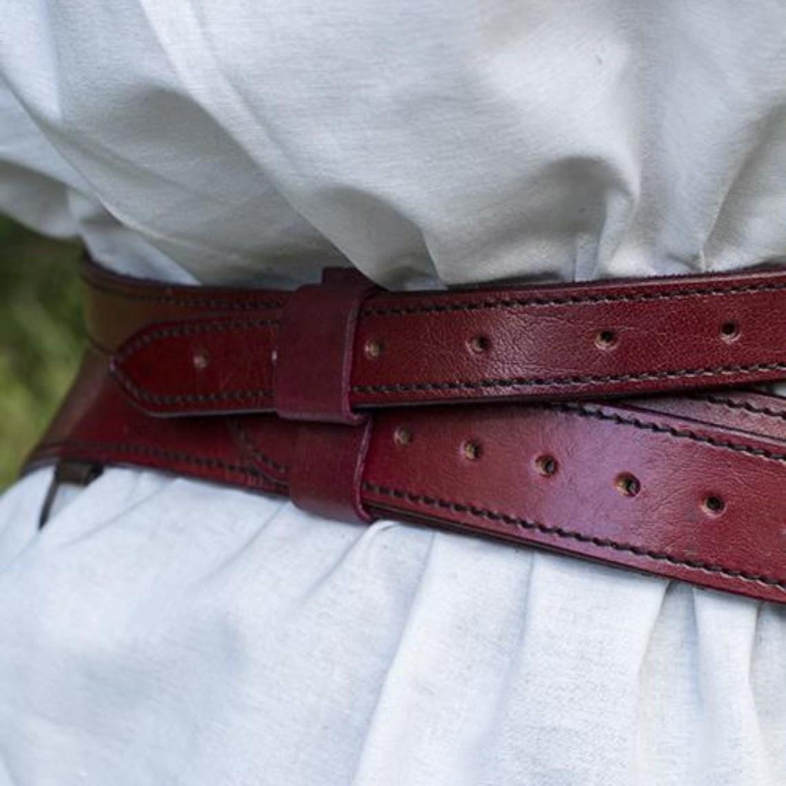 Epic Armoury Cintura spada in due parti, rossa