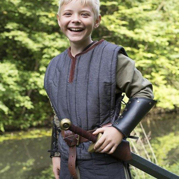 Epic Armoury RFB Ærmeløs gambeson til børn, sort